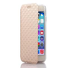 Χαμηλού Κόστους Θήκες iPhone 6s Plus-Για Θήκη iPhone 6 / Θήκη iPhone 6 Plus με βάση στήριξης / Ανοιγόμενη tok Πλήρης κάλυψη tok Γεωμετρικά σχήματα Σκληρή Συνθετικό δέρμα