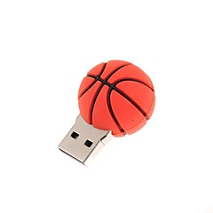 zp cartoon basketbal karakter usb flash drive 8gb