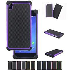 Недорогие Чехлы и кейсы для Sony-два в одном футбол зерна конструкция ПК и силиконовый чехол для Sony Xperia z2 (ассорти цветов)