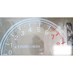 grande 60 centímetros Cool Car tacômetro reflexiva adesivos