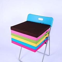 lily® egyszerű szövet mosható szögletes szivacs párna pamut 4 cm vastag, 40 * 40cm szék párna candy green HMD-4-28