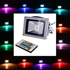 halpa Ulkovalaisimet-4W 450-700 lm LED-valonheittimet 1 ledit Integroitu LED Kauko-ohjattava RGB AC 85-265V
