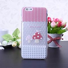 pequeña caso duro del patrón de setas litchi textura plástica fresca para el iphone 6