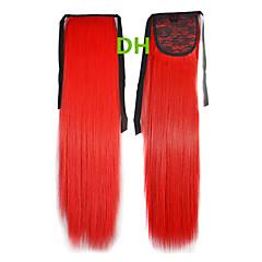 Hot Selling Peny Clips del color del pelo de la cola de colores Red Bar extensión del pelo al por mayor del pelo Piezas