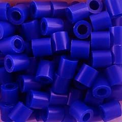 abordables Cuentas y Adornos de Cuentas-aprox 500pcs / bolsa 5mm azul perlas de fusibles Hama Beads bricolaje eva rompecabezas de material safty para los niños de artesanía