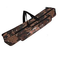 abordables Bolsas de Pesca-120cm bolsa caña de pescar doble capa de camuflaje multifuncional bolsa de pesca al aire libre