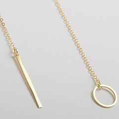 preiswerte Halsketten-Damen Lasso Anhängerketten / Lange Halskette - Grundlegend, Simple Style Silber, Golden Modische Halsketten Schmuck Für Party, Geburtstag, Geschenk