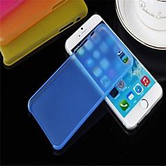 Для Кейс для iPhone 6 / Кейс для iPhone 6 Plus Полупрозрачный Кейс для Задняя крышка Кейс для Один цвет Твердый PCiPhone 6s Plus/6 Plus /