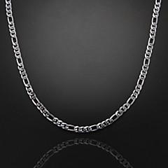voordelige -Anderen Verzilverd Kettingen  -  Uniek ontwerp Modieus Zilver Kettingen Voor Kerstcadeaus Feest Lahja