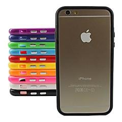 Недорогие Кейсы для iPhone 6-стильный бампер ТПУ Рамка для iPhone 6 Plus (разных цветов)