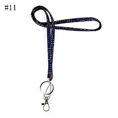 preiswerte Schlüsselanhänger-Schlüsselanhänger Dark Gray / Hellgrau / Regenbogen Tape Modisch Für Geschenk / Freizeitskleidung