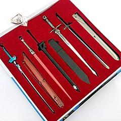 Sabie / Mai multe accesorii Inspirat de Sword Art Online Cosplay Anime Accesorii Cosplay breloc Negru / Albastru / Argintiu Aliaj