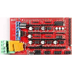 cheap -Robotale RAMPS 1.4 Reprap MendelPrusa 3D Printer Control Board - Red + Black