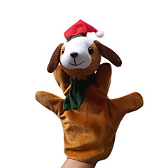 Christmas Dog Large-sized Hand Puppets Toys