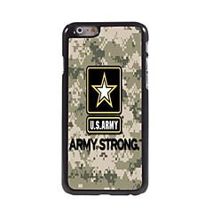 Армия США алюминиевая конструкция жесткий футляр для iPhone 6 Plus