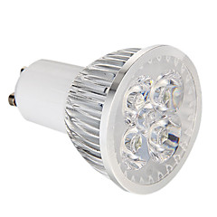 billiga LED-glödlampor-GU10 LED-spotlights 4 lysdioder Högeffekts-LED Bimbar Naturlig vit 360lm 5500-6000K AC 220-240V