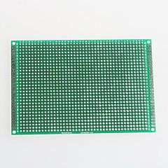 double face en fibre de verre prototype de carte de circuit imprimé pour Arduino (8 x 12 cm)