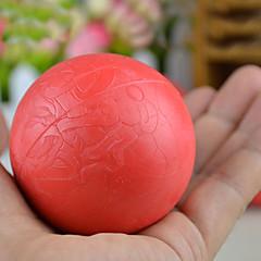 お買い得  犬用おもちゃ-ビッグサイズのトレーニング赤いロープのゴムスーパーボール