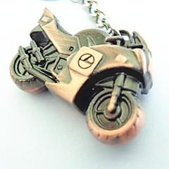 calle hermosa personalidad dominante motocicleta pesada llavero de acero inoxidable fresco