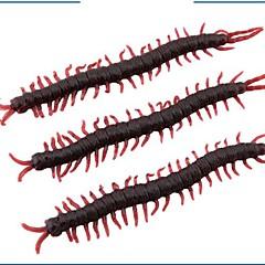 abordables Vajilla para Fiestas-Simulation Animal Centipede Halloween Props Arranged The Whole Person (Set of 5) Color Random