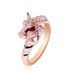 Ring Women Vintage/Cute/Party/Work/Casual Alloy/Crystal Other)
