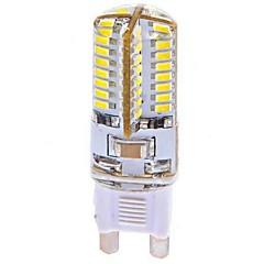 preiswerte LED-Birnen-G9 LED Mais-Birnen T 64 Leds SMD 3014 Kühles Weiß 360lm 6000-6500K AC 100-240V