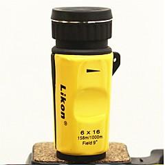 abordables Microscopios y Lupas-6x 16mm visión nocturna de alta definición de mini telescopio monocular
