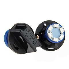 Недорогие Освещение салона авто-T10 Автомобиль Лампы 0.2W SMD 1012 6 Подсветка приборной доски