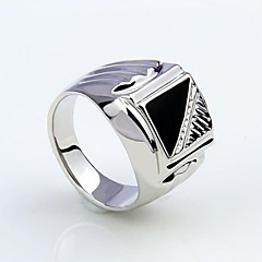 cheap -Korean Style Enamel Men's Statement Ring Jewelry Christmas Gifts