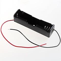 3.7 1 개 18650 배터리 홀더 케이스 상자 (2PCS)