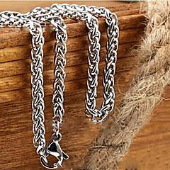 Недорогие Ожерелья-Ожерелья-цепочки - Титановая сталь Дракон Уникальный дизайн, Мода Ожерелье 1шт Назначение Новогодние подарки, Свадьба, Для вечеринок