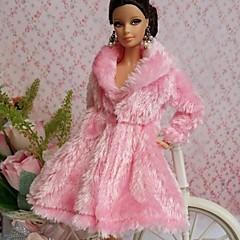 abordables Ropa para Barbies-Fiesta/Noche Vestidos por Muñeca Barbie  Tela de Encaje Organdí Top por Chica de muñeca de juguete
