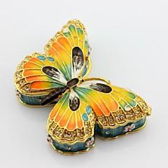 email cositor fluture caseta de bijuterii cutie breloc