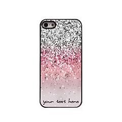 economico Custodie per iPhone-personalizzato phone caso - caso di disegno polvere metallica luccicante per iPhone 5 / 5s