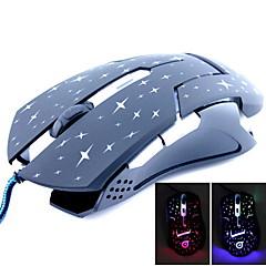 mouse-ul de sârmă de jocuri M2400 cliry 6 butoane dpi1600
