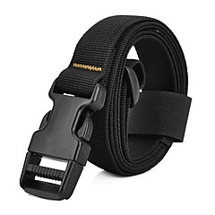 Outdoor Backpack Accessory High Intensity Nylon Buckle Tying Band - Black