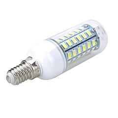 お買い得  LED 電球-5W 500-600 lm E14 LEDコーン型電球 T 56 LEDの SMD 5730 温白色 クールホワイト AC 220-240V