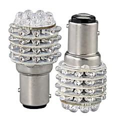 abordables Bombillas LED para Coche-2pcs BA15S (1156) Coche Bombillas W LED Dip lm 45 Luz de Intermitente