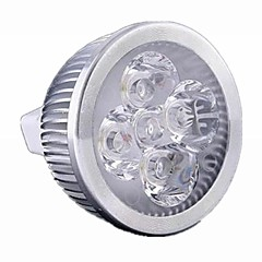 5W GU5.3(MR16) LED Spot Lampen MR16 4 Leds Hochleistungs - LED 500lm Warmes Weiß Kühles Weiß Warm: 2800-3200K ; Cool: 6000-6500KK