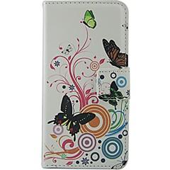 إلى نوكيا حالة محفظة / حامل البطاقات / مع حامل غطاء كامل الجسم غطاء فراشة قاسي جلد اصطناعي Nokia Nokia Lumia 630