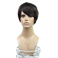 お買い得  人工毛ウィッグ-合成 ウィッグ ストレート ブラックウィッグ ブラック 日常