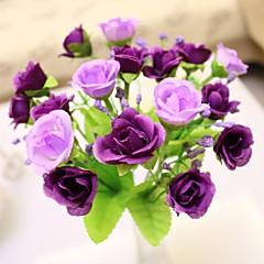 Недорогие Женские украшения-Искусственные Цветы 1 Филиал Европейский стиль Розы Букеты на стол