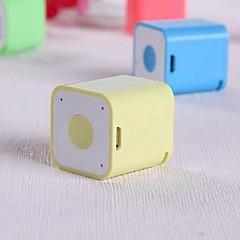 voordelige Kerst Uitverkoop-Mini Draagbaar Bluetooth 2.1 Draadloze bluetooth speakers Wit Geel Rood Groen Roze