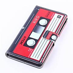 Для Кейс для Sony / Xperia Z3 Кошелек / Бумажник для карт / со стендом / Флип Кейс для Чехол Кейс для Мультяшная тематика Твердый