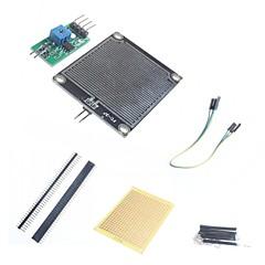 お買い得  センサー-DIYレインセンサーモジュールとArduinoのためのアクセサリー