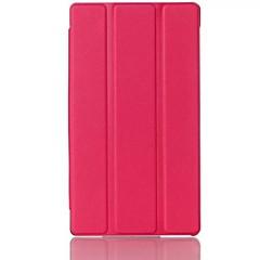 7 polegadas estojo de couro pu três padrão dobrável com caneta para (cores sortidas) Lenovo tab2 a7-30 (A3300)