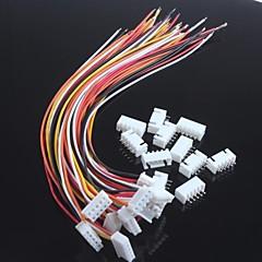baratos -wire única cabeça xh2.54-5p com terminais de fios (10pcs)
