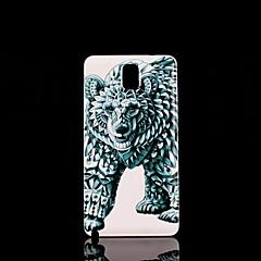 Mert Samsung Galaxy Note Minta Case Hátlap Case Állat PC Samsung Note 3