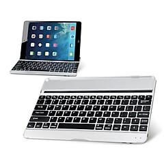 ultra-delgado teclado inalámbrico Bluetooth de aleación de aluminio móvil para aire iPad (colores surtidos)