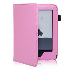 preiswerte Tablet-Hüllen-Hülle Für Kindle / Kindle 5 / Amazon Hüllen (Full Body) Ganzkörper-Gehäuse Hart PU-Leder / PVC für
